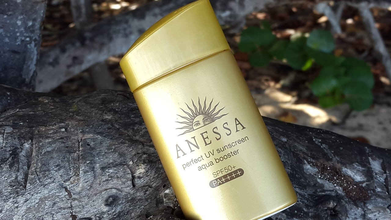 Review kem chống nắng Anessa Perfect UV Sunscreen Aqua